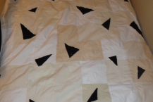 "The ""Broken Pieces"" quilt"